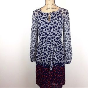 Tory Burch Silk Keyhole Dress 0 - N459@